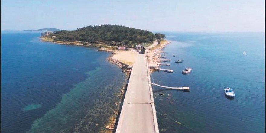 Urla'daki karantina adası restore ediliyor
