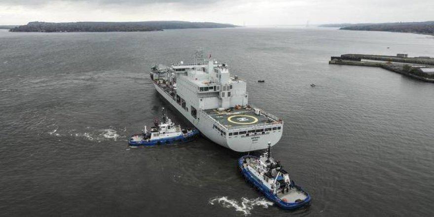 Konteyner gemisinden ikmal gemisine dönüştürüldü