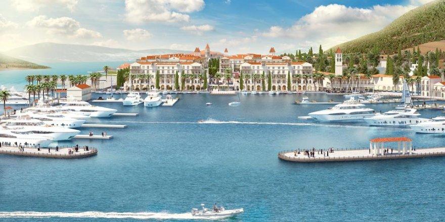 Doğuş Grubu Karadağ'daki marinanın işletmeciliğini aldı