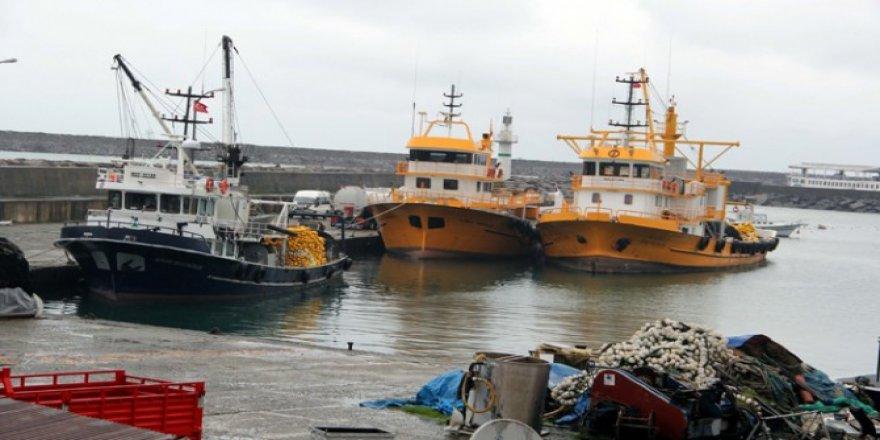 Balıkçılar av sezonu bitmeden limanlara döndü