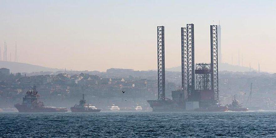 Dev platformu İstanbul Boğazı'ndan geçiyor