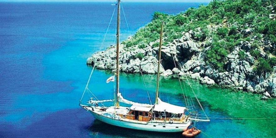 Marmaris'te tekne turları başladı