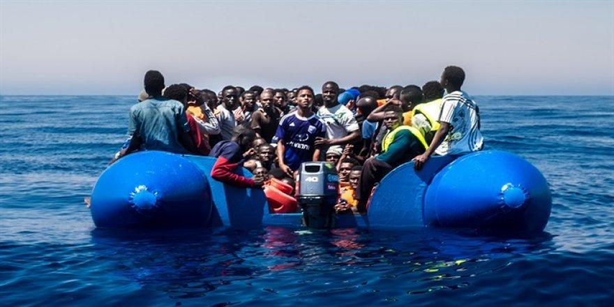 Akdeniz'de yine facia! 90 kişi boğuldu