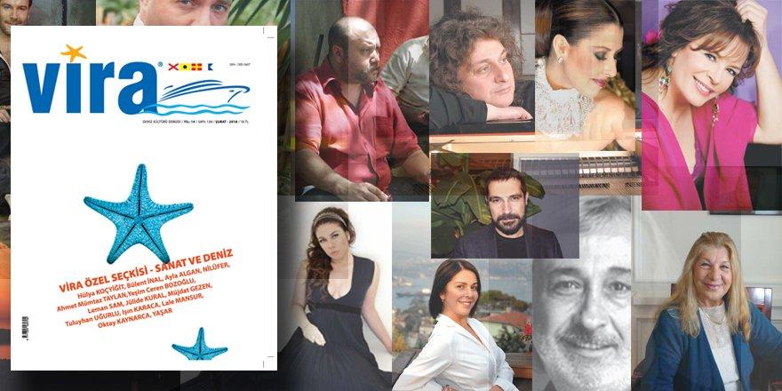 """Vira Dergisi """"Sanat Ve Deniz"""" Başlığıyla CNR Avrasya Boatshow' da"""