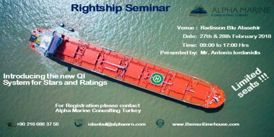 Alpha Marine'den Rightship semineri