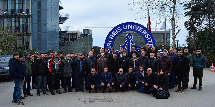 Antalyalı denizciler Piri Reis Üniversitesi'nde