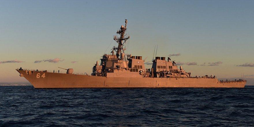 USS Carney destroyeri Karadeniz'de
