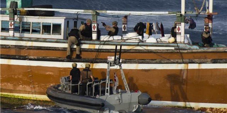 Uyuşturucu sevkiyatı yapan gemi suçüstü yakalandı