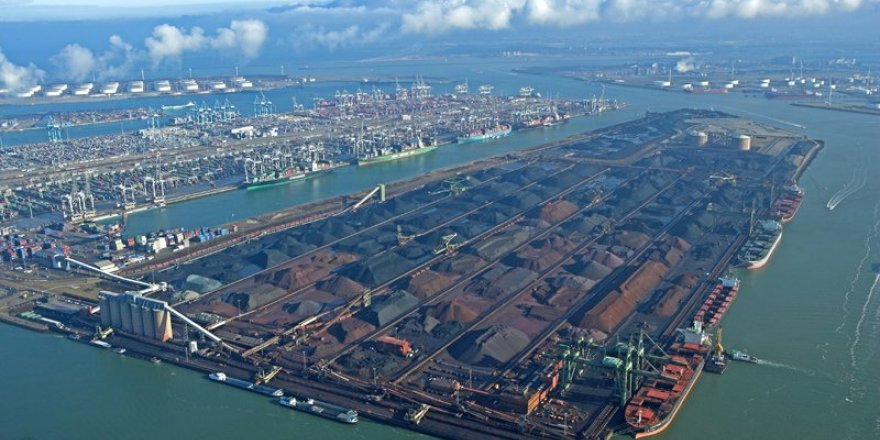 Rotterdam Limanı'nda 'Kömüre Veda'