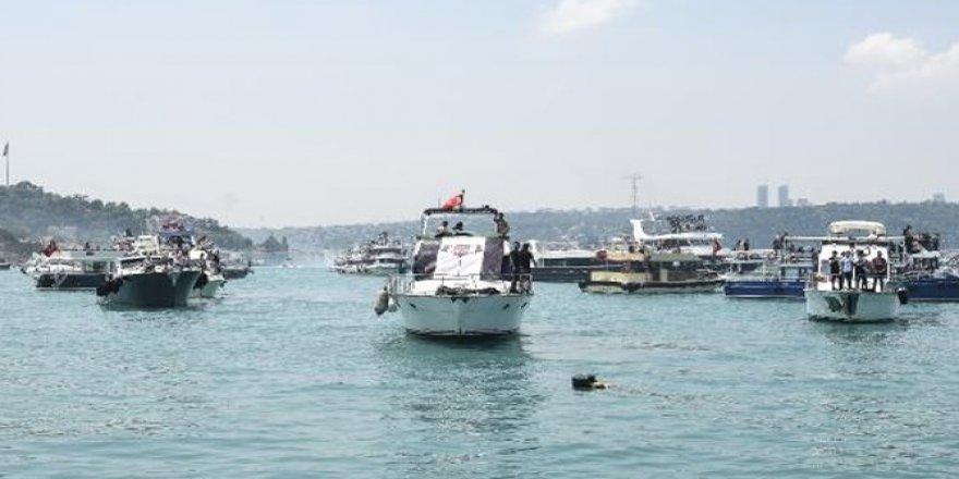 İstanbul Boğaz'ında 51 bin gemi denetlendi