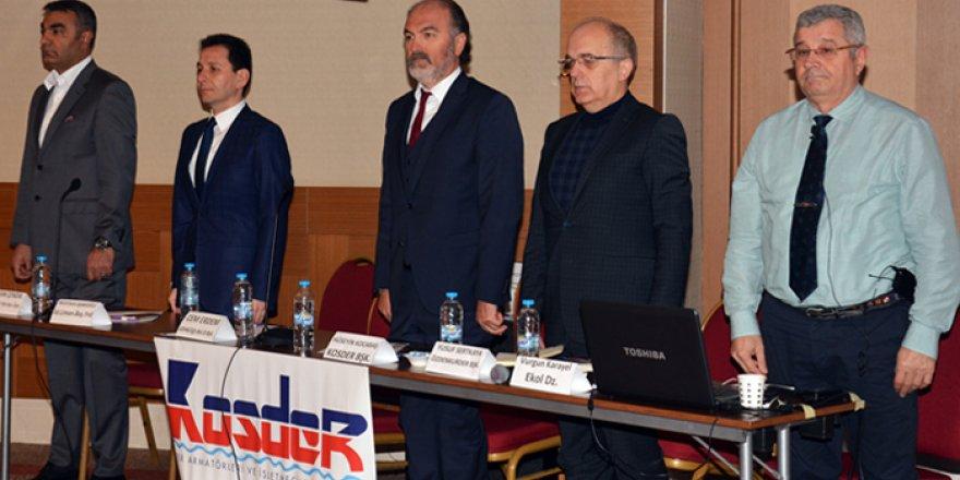KOSDER'den değerlendirme toplantısı