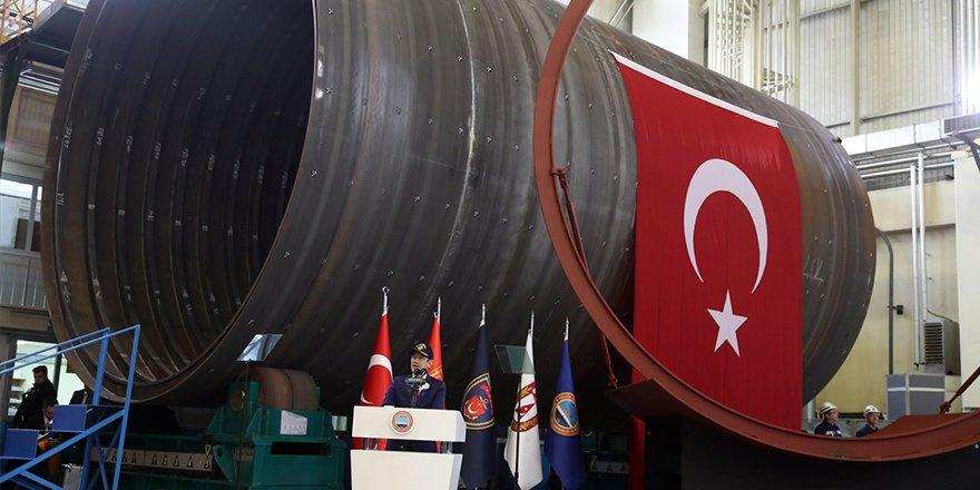 Canikli'den 'Milli denizaltı' müjdesi
