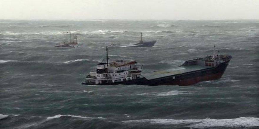 Karadeniz çıldırdı, gemiler Sinop'a sığındı