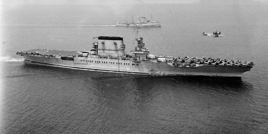 Uçak gemisi USS Lexington'un enkazı bulundu