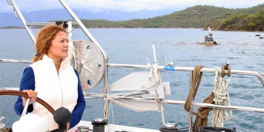 Kadın kaptanın hayali gerçek oluyor