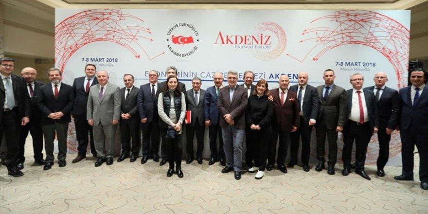 Akdeniz Ekonomi Forumu Mersin'de başladı