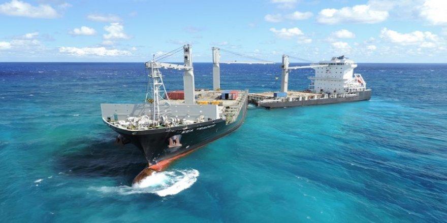 İkiye bölünen konteyner gemisi kurtarılacak