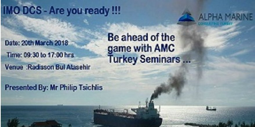 Alpha Marine Consulting Turkey'den yeni seminer