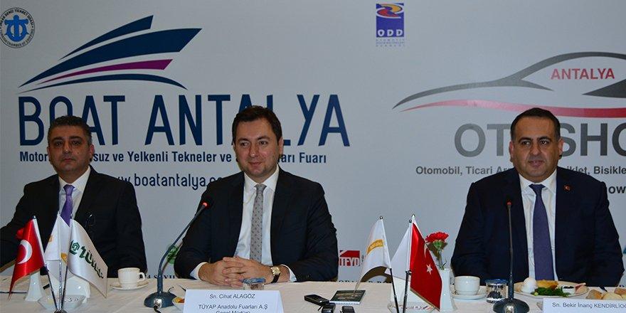 Boat Antalya Fuarı yarın kapılarını açıyor