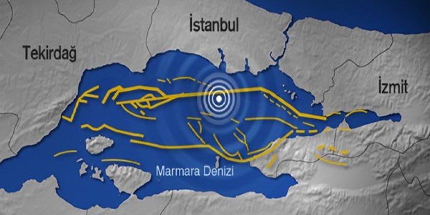 Marmara depremi göstere göstere geliyor