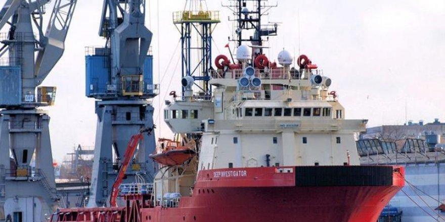 Ocean Investigator gemisi, Limasol Limanı'nda