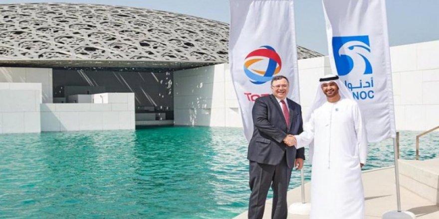 Total, Abu Dabi'de petrol sahalarının %20'sini alıyor
