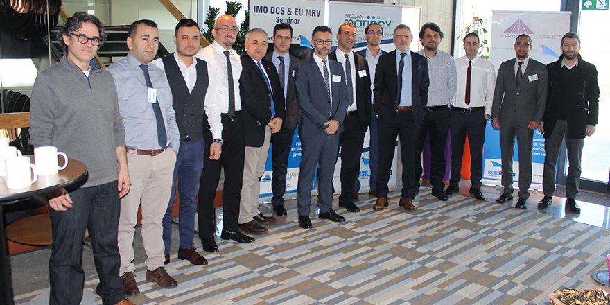 IMO DCS ve EU MRV sistemleri semineri gerçekleşti