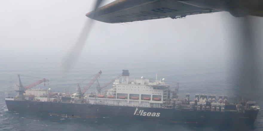 Yaralı işçiler, SGK tarafından gemiden tahliye edildi