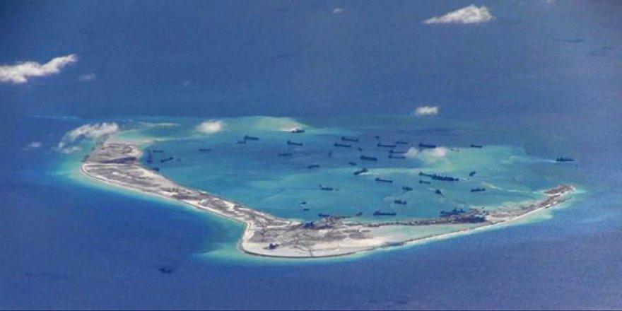 Çin gemileri ihtilaflı sularda