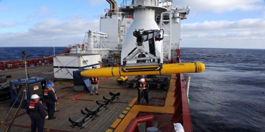 Petrol ve doğal gaz arayan sualtı robotları