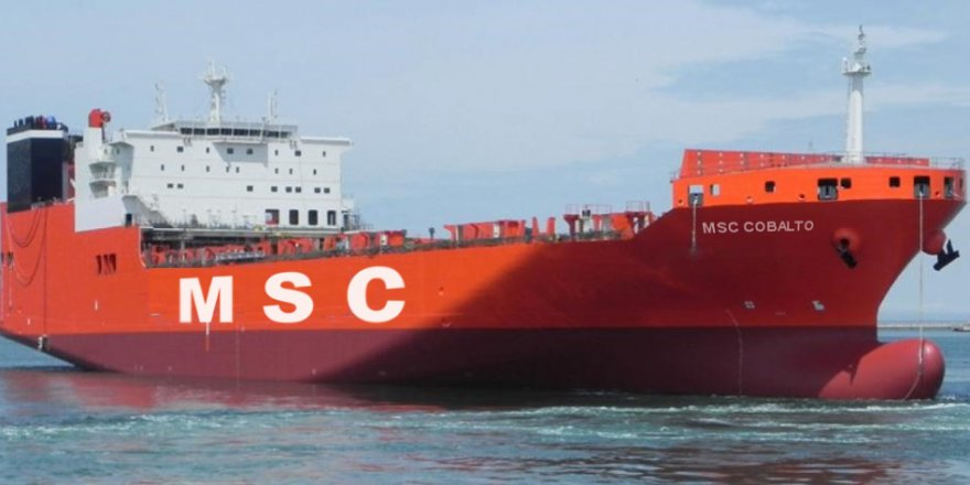 MSC'den yeni Ro-Ro servisi