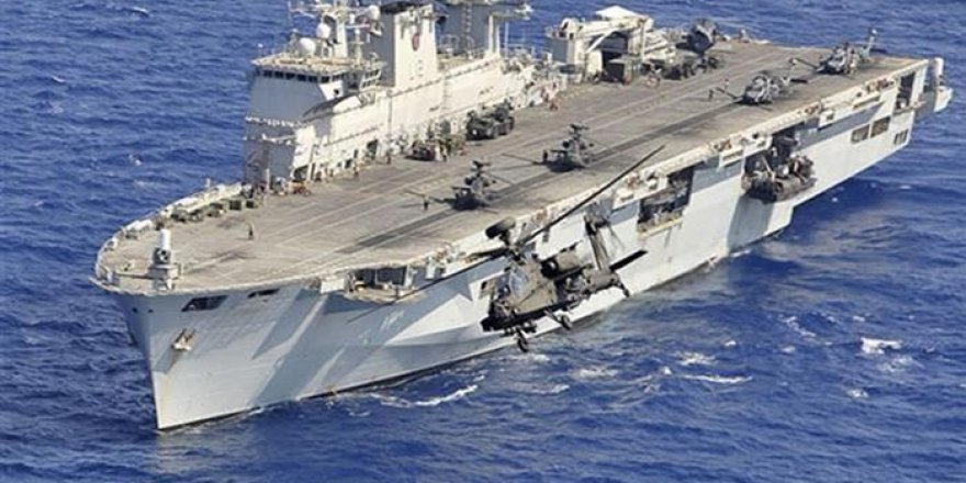HMS Ocean uçak gemisi emekli oldu