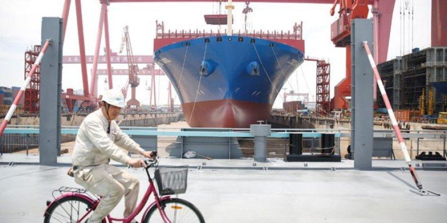 Çin dünyanın en büyük tersanesini kuruyor