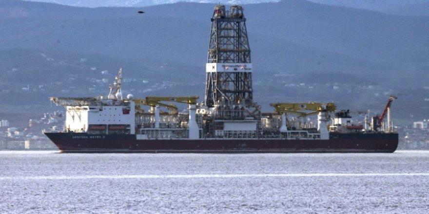 Rumlar'da Türk sondaj gemisi rahatsızlığı