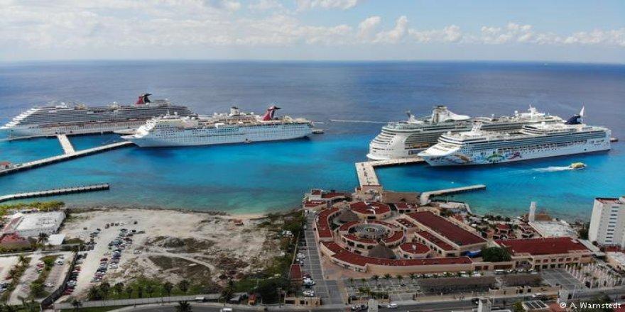 Dev yolcu gemilerinin favorisi Cozumel Adası