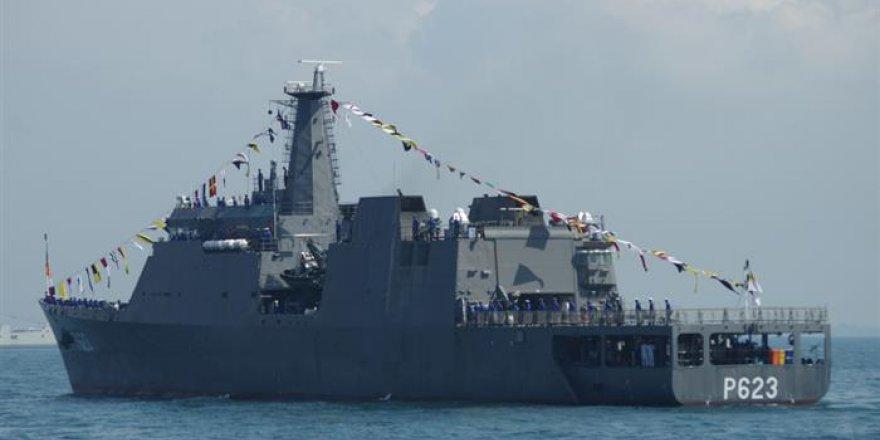 Goa Tersanesi 2. OPV'yi Sri Lanka'ya teslim etti