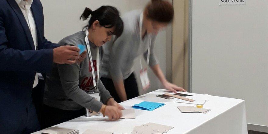 DTO'da oylar sayılmaya başladı