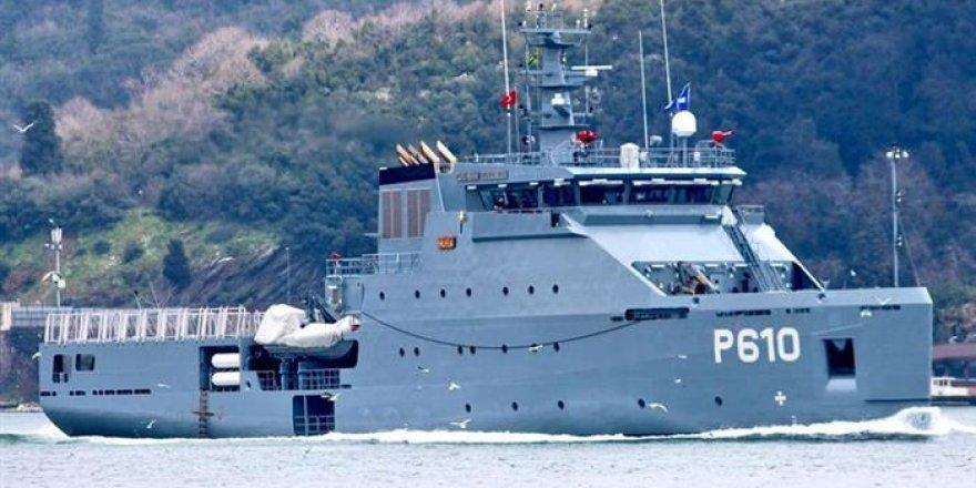 Romanya Tunus'a inşa ettiği gemiyi teslim etti
