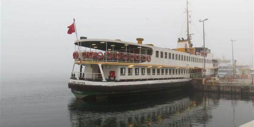 Vapur seferleri iptal edilince Marmaray'da izdiham yaşandı