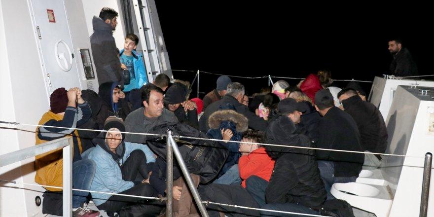 Ro-Ro gemisinde 79 kaçak göçmen yakalandı