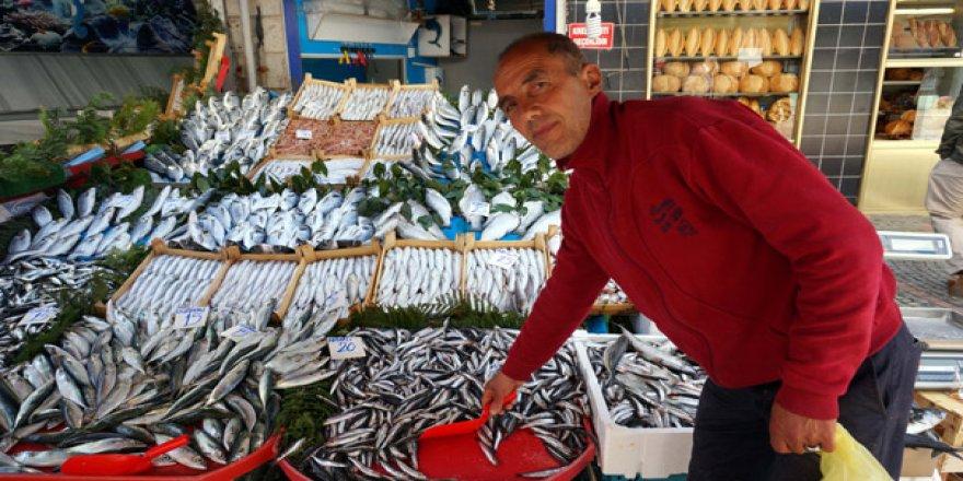 Sezon sonunda tezgahlarda balık bolluğu