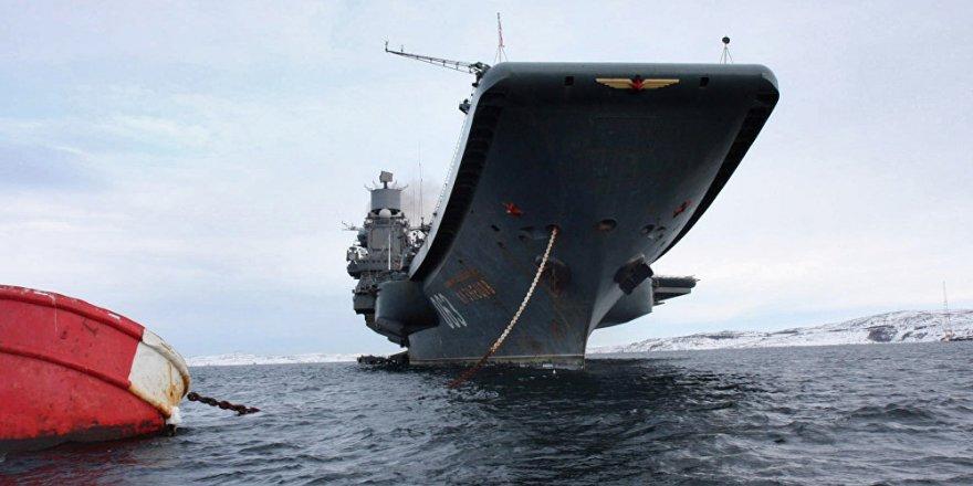 Varyag uçak gemisi arızalıymış