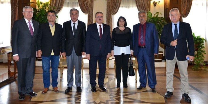 DTO'nun İlk Ziyareti Vali Karaloğlu'na