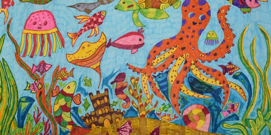 Çocukların Denizi Rengarenk