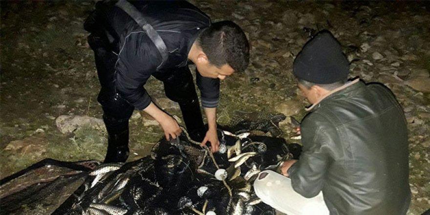 3 bin 600 kilogram balık ele geçirildi