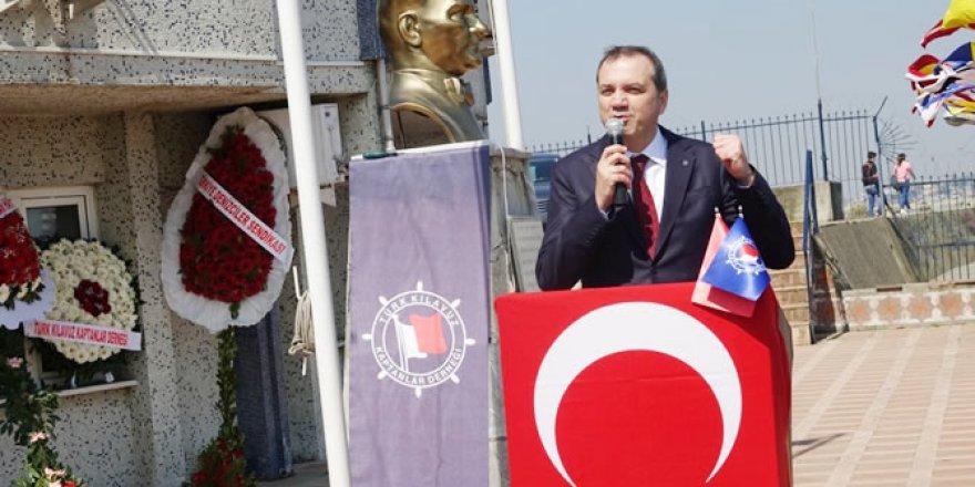 Kılavuz Kaptanlar Haftası için tören düzenlendi