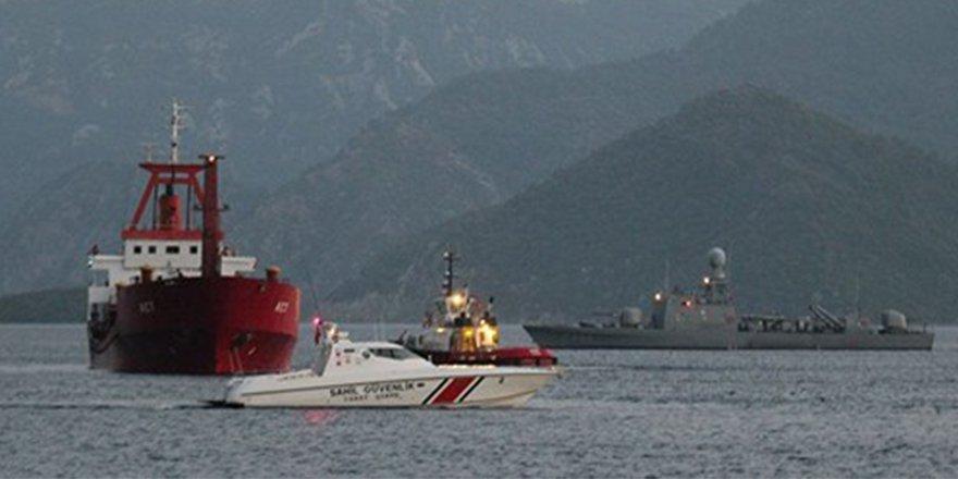 Türk gemisi Yunan savaş gemisiyle çarpıştı