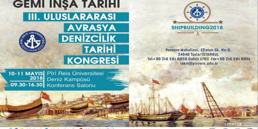 III. Avrasya Denizcilik Tarihi Kongresi PRÜ'de yapılacak