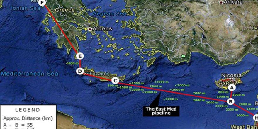 Türkiye'yi bypass eden haritaya çok sert tepki!