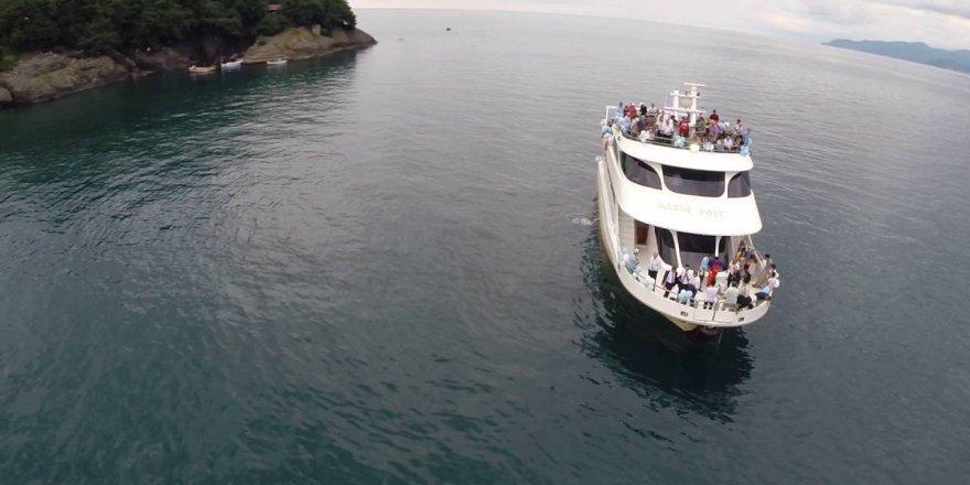 Giresun Adasına turlar başladı